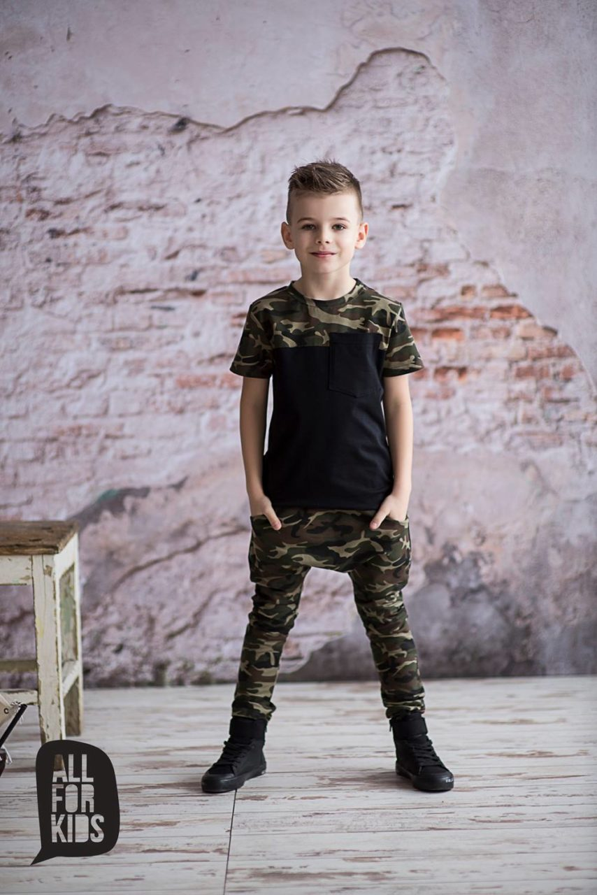 08ea1c55054a Chlapecké army baggy – Trendy Kids